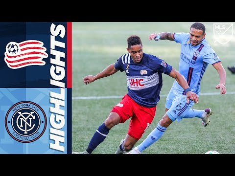 New England New York City Goals And Highlights
