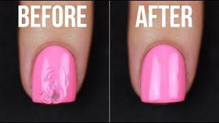 How to FIX Smudged Nail Polish (5 ways!!) || KELLI MARISSA