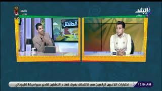 محمد عادل جمعة في مواجهة هاني حتحوت في Man To Man من الماتش