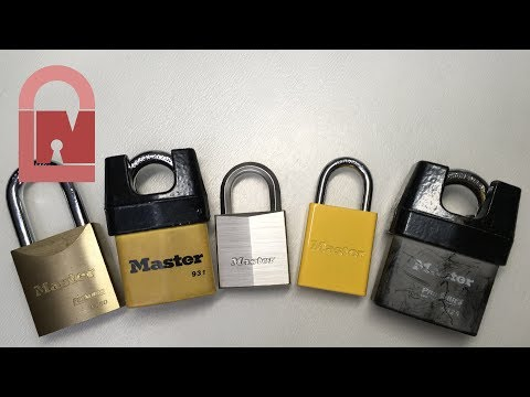 (272) Master Lock's BEST Locks - Give them a go!