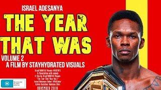 Israel Adesanya Short Film - The Year That Was Vol. 2