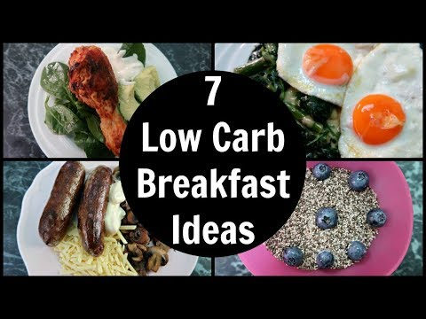7 Low Carb Breakfast Ideas | A Week Of Easy LCHF Keto Breakfasts