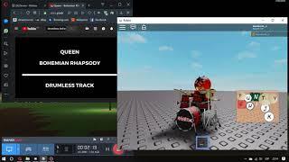 Roblox | Bohemian Rhapsody (Drum Cover)