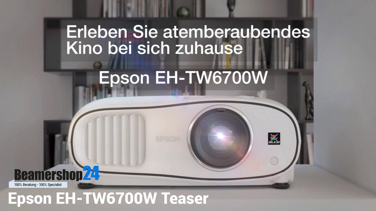 Epson EH-TW6700W Teaser - YouTube