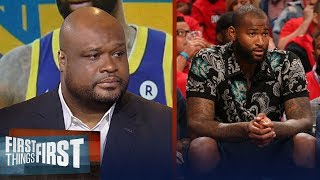 Antoine Walker on Cousins departing the Pelicans for Golden State | NBA | FIRST THINGS FIRST