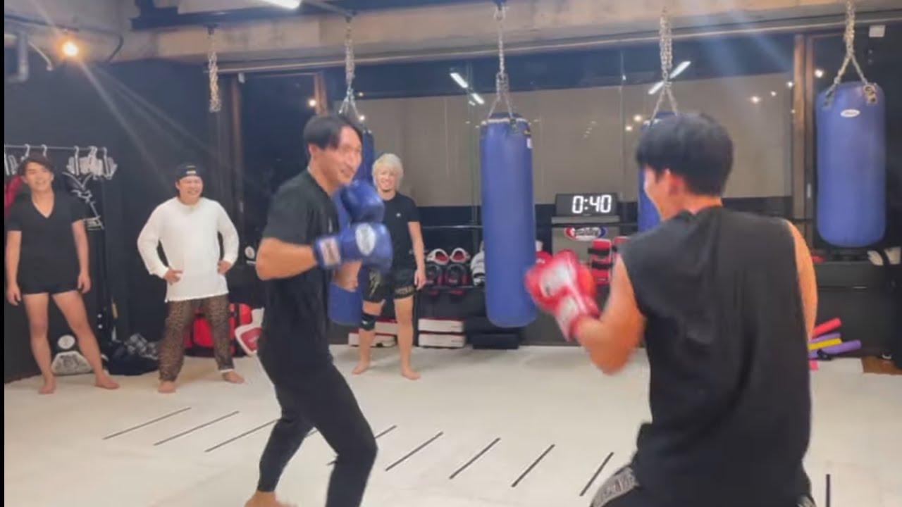 安保瑠輝也チームと対決してきた。