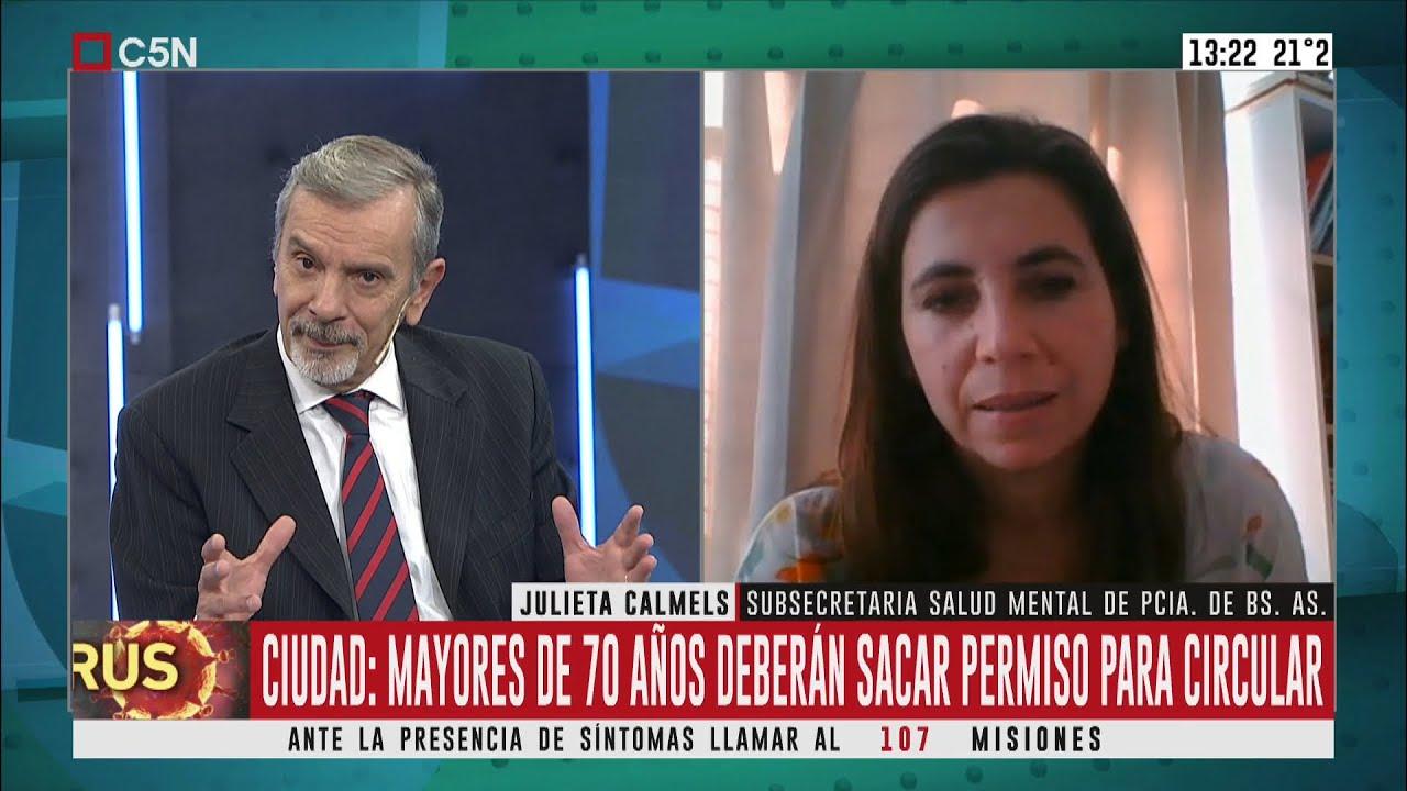 Coronavirus: habla Julieta Calmels, de la Subsecretaría de Salud Mental de  la Prov. de Bs. As. - YouTube