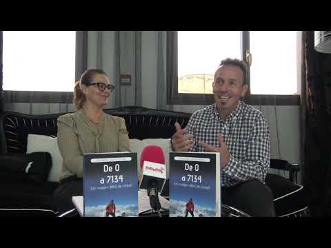Fernando Latorre charla con Rita Piedrafita sobre su libro De 0 a 7.134. Un viaje difícil de contar.
