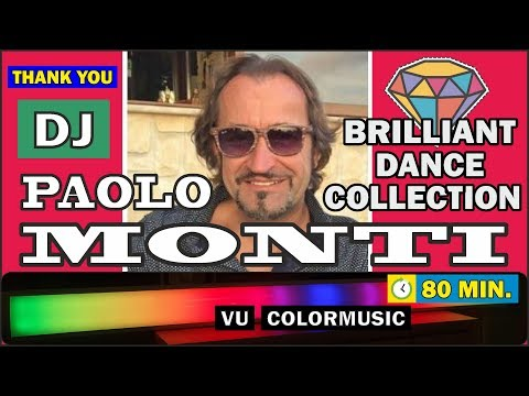 DJ Paolo Monti - Brilliant Dance Collection / Remixes 2019 / 80 Min. / Light For DJ's
