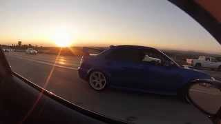 N54 BMW 335 vs heavily tuned E85 Subi STI