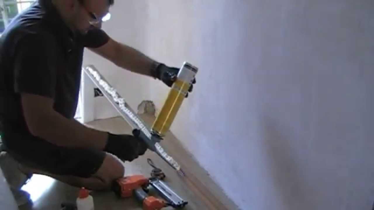 Instalar rodapie o zocalo de madera youtube for Tipos de zocalos