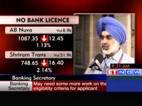 Expect RBI to give more bank licences: GS Sandhu, Banking secretary