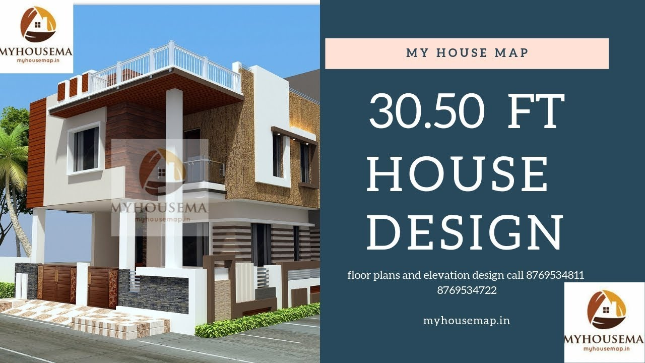 33 50 House Plan Details Youtube