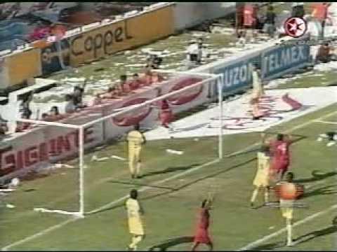 Veracruz Vs America Gol 4000 Del America Youtube