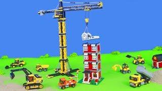 Bagger, Lastwagen, Kran, Spielzeugautos & Trucks Baustelle | LEGO Construction Spielwaren für Kinder
