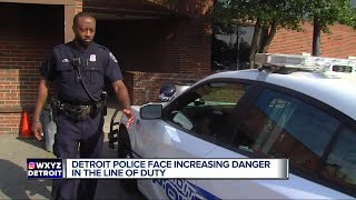 Detroit police face increasing danger in the line of duty