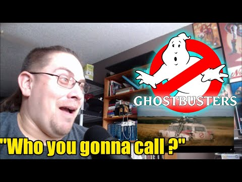 Ghostbusters: Afterlife Trailer 1 (Reaction)