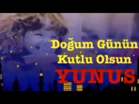 YUNUS İyi ki Doğdun :) 3.VERSİYON Komik Doğum günü Mesajı *happy birthday Yunus* Made in Turkey :) 🎂
