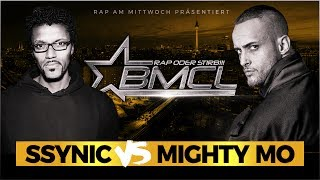 BMCL TITELMATCH: SSYNIC VS MIGHTY MO (BATTLEMANIA CHAMPIONSLEAGUE)