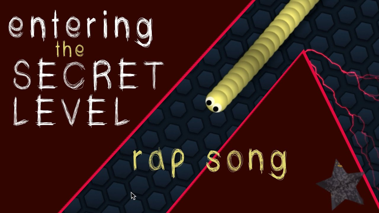 "Slither.io Rap Song ""Entering The Secret Level"" 💀WARNING: SHOCKING ENDING!!!"