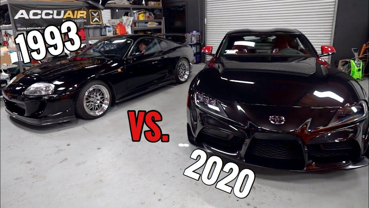 TJ Hunt - ALL the Differences between MK4 & MK5 Supra!