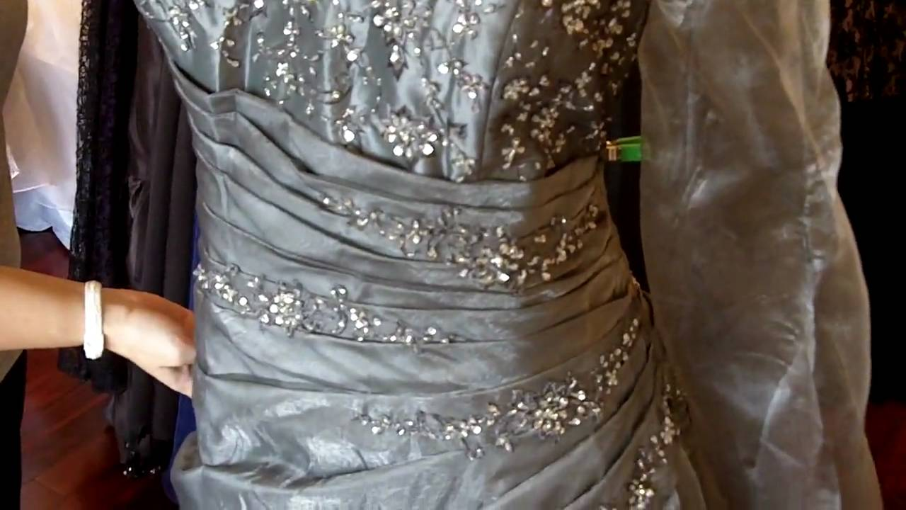 Silver Wedding Dress From Wedding Dress Fantasy