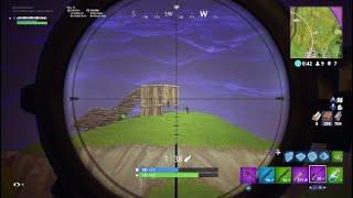 My New Record FORTNITE longest sniper kill 263m PS4