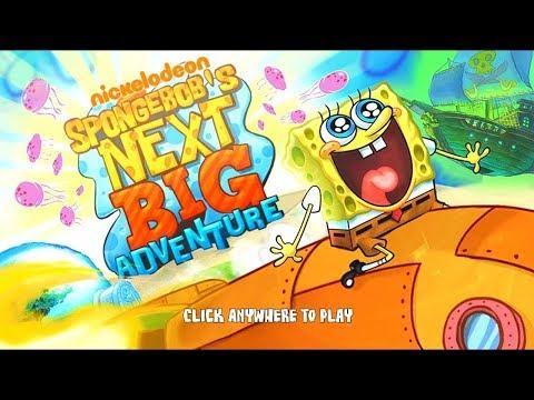 Игра Новое большое приключение Губки Боба