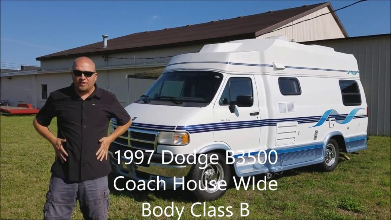 SOLD! 1997 Dodge Coach House WIde Body Class B Camper Van for sale!