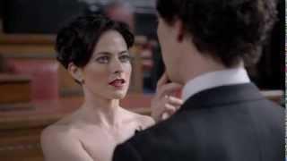 Irene Adler in season 3 of Sherlock
