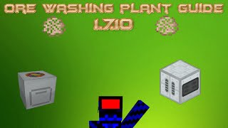 Ore washing plant guide 1.7.10