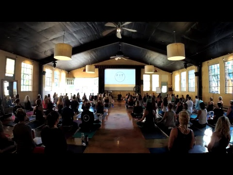 20 Minute Meditation With Baron Baptiste LIVE From Fit To lead