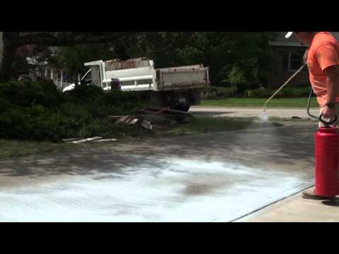 How to Seal a Concrete Driveway, Patio or Sidewalk