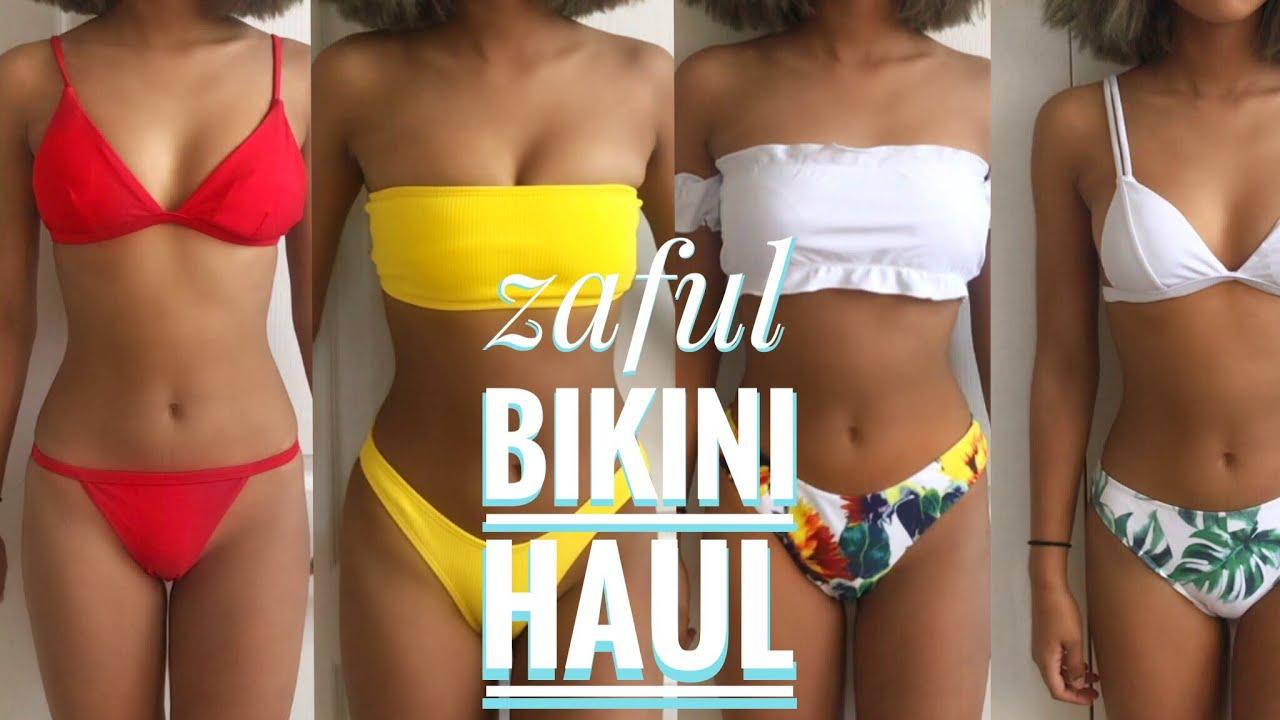 7c38233ccdfcc ZAFUL BIKINI TRY-ON HAUL | best bikinis 2018 - YouTube