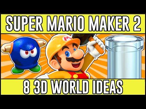 Revolutionary 3D World Ideas! - Super Mario Maker 2 3D World Level Ideas