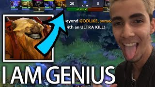 ES Mid? Genius play by Sumail 12 Min Beyond God-Like! 7.06c Gameplay Dota 2 MUST WATCH