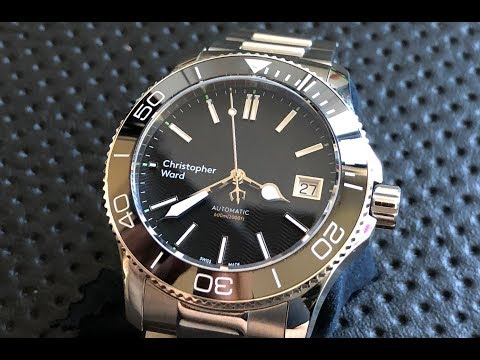 The Christopher Ward Trident Pro 600 Wristwatch: The Full Nick Shabazz Review