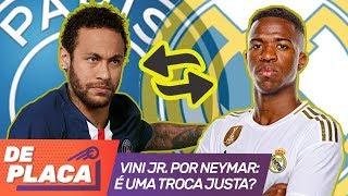 Vinicius Jr. por Neymar? Veja a verdade por trás dessa negociação envolvendo Real Madrid e PSG