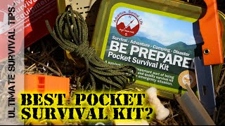 NEW! Best Glide Pocket Survival Kit / Tin + DIY Upgrades - REVIEW - Altoids / Altoid Tin