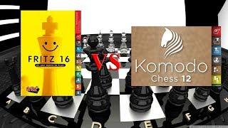 What's the strongest 2018 December: Fritz 16 vs Komodo 12.2 - Match #1