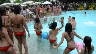 Angeles City Pool Party with Sexy Filipino Ladies Part 2 August 2012