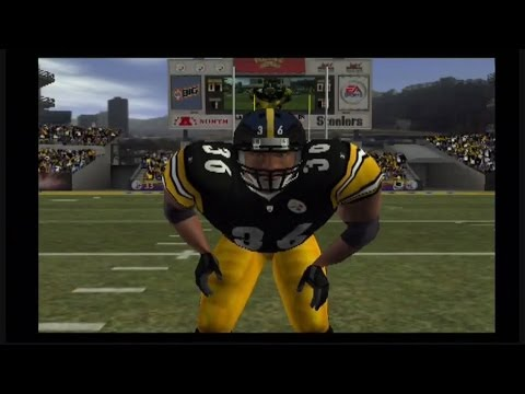 MADDEN 2004: BRONCOS VS STEELERS: LETS TALK NFL: #THROWBACKTHURSDAY