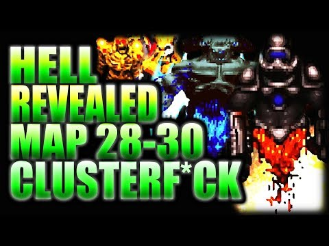 DEMENTED TERMINATOR!! | Complex Doom/LCA/DUSTED/CLUSTERF*CK | HELL REVEALED Map 28-30