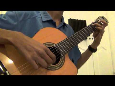 Gavotte II - Lute Suite BWV 995 (classical guitar)