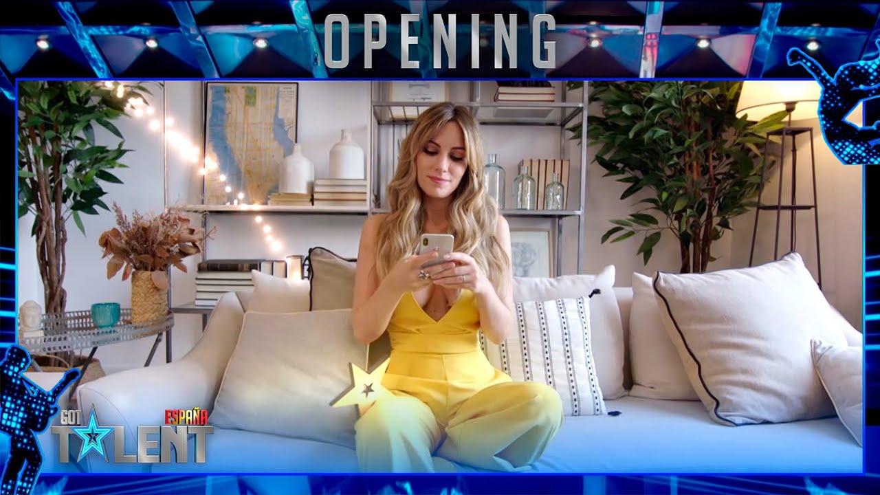 La ESTRELLA MÁGICA de Edurne sorprende a los concursantes   Openings   Got Talent España 2021