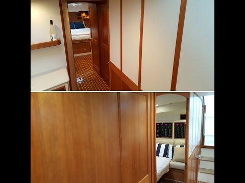 MJM Yachts 50z Portable Bulkhead System
