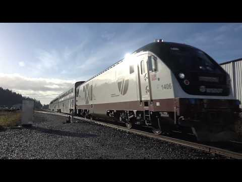 4K New Siemens Chargers in Amtrak Cascades Service!!