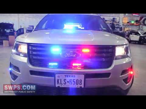 2018 Ford Police Interceptor Utility Stealth SWPS - SA18EXPLORER