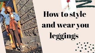 How to style leggings// How to…