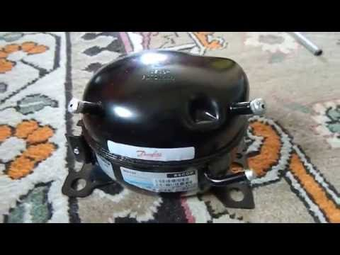 12v 24v Dc Refrigeration Compressor Bd35f Youtube